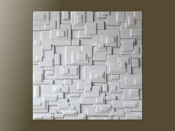 25 Best Wall Sculptures Images On Pinterest | Wall Sculptures Pertaining To Sculpture Abstract Wall Art (Image 2 of 20)