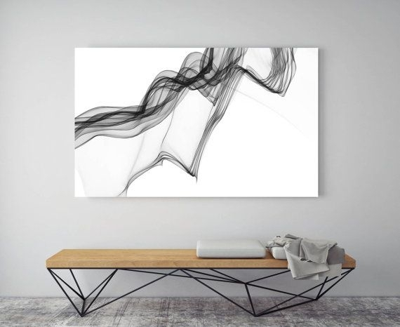 261 Best Black And White Abstract Art Images On Pinterest Inside Abstract Expressionism Wall Art (Image 3 of 15)