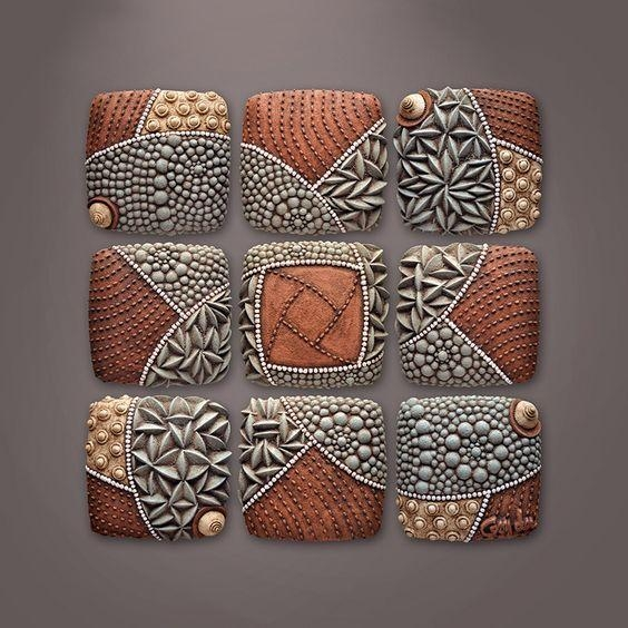 277 Best Christopher Gryder Images On Pinterest | Wall Sculptures Throughout Abstract Ceramic Wall Art (Image 3 of 16)