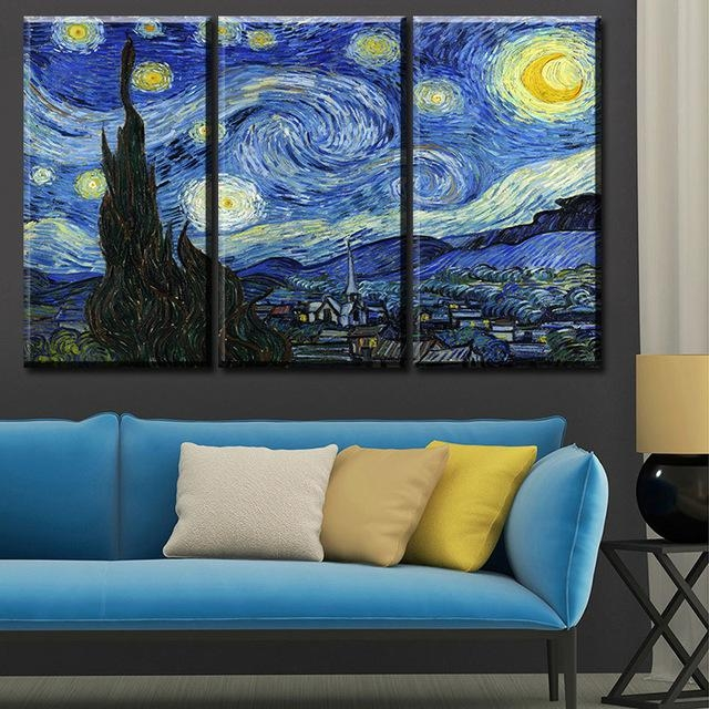 Featured Image of Vincent Van Gogh Multi Piece Wall Art