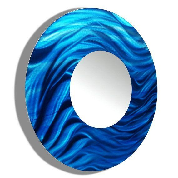 31 Best M O D E R N - M I R R O R S Images On Pinterest | Modern intended for Circle Bubble Wave Shaped Metal Abstract Wall Art