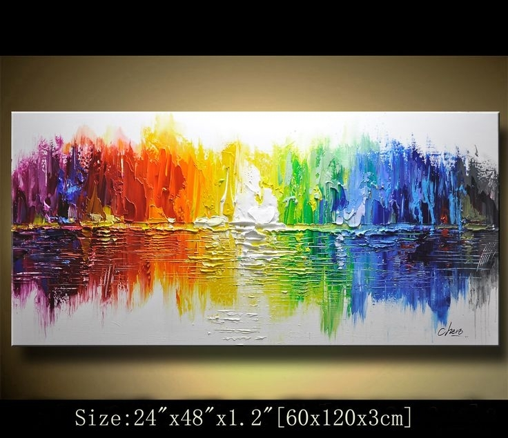 35 Best Abstract Wall Painting For Your Home Or Office Decor intended for Abstract Wall Art for Office