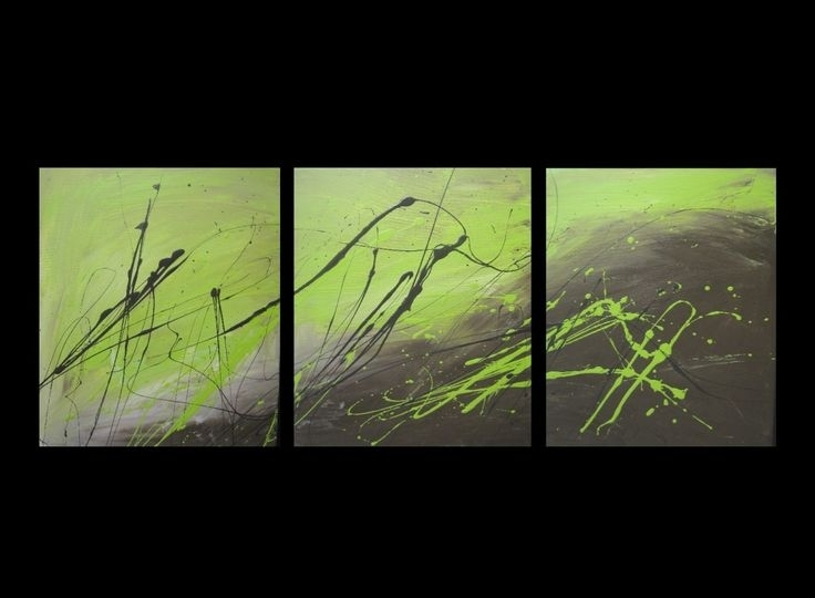 40 Best Canvas Art Images On Pinterest | Canvas Art Paintings With Green Abstract Wall Art (Photo 4 of 15)