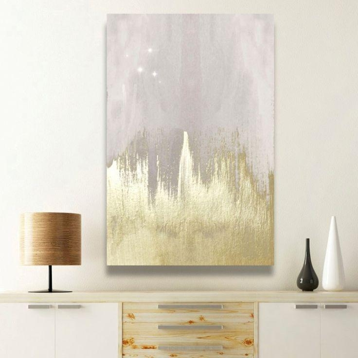 41 Best Art Is Food For The Soul. Images On Pinterest | Canvas inside Black And Gold Abstract Wall Art
