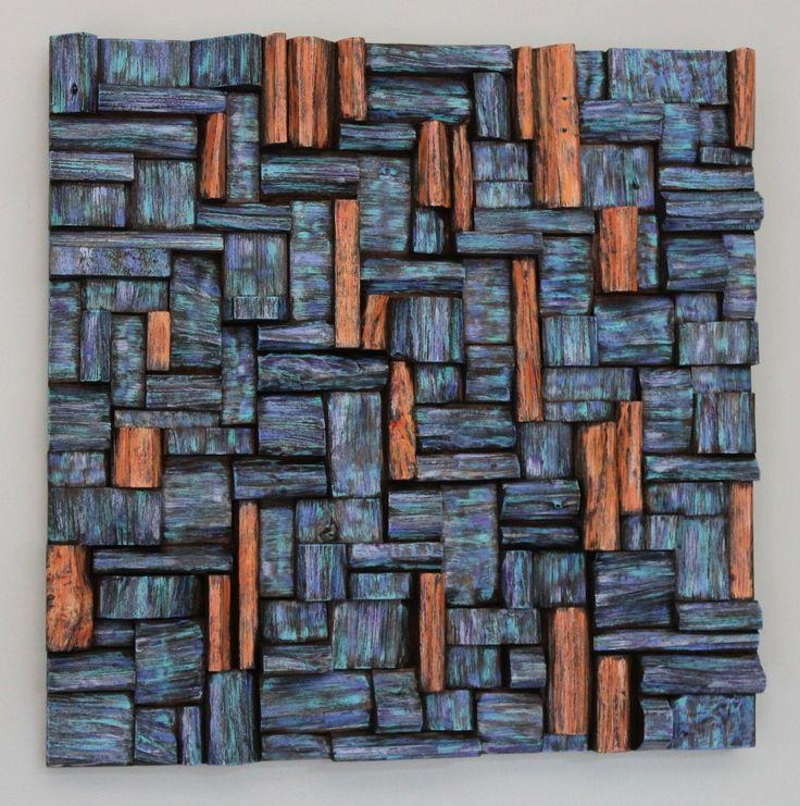 423 Best Abstract Wood Wall Art Images On Pinterest | Abstract Art Intended For Sculpture Abstract Wall Art (Photo 16 of 20)