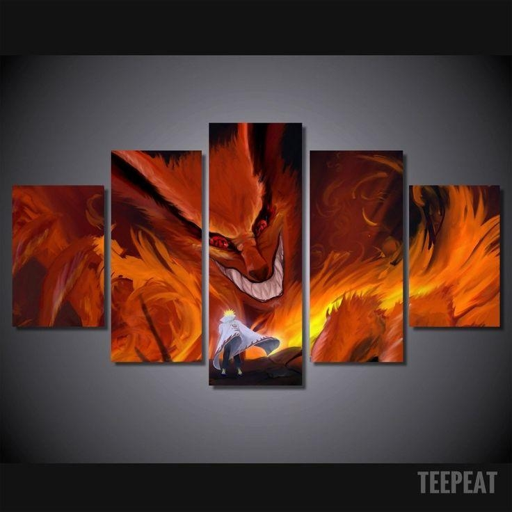 47 Best Naruto Wall Canvas Images On Pinterest | Painting Canvas With Regard To Limited Edition Canvas Wall Art (Photo 19 of 20)