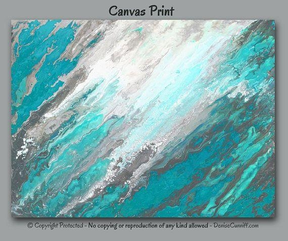 530 Best Artfromdenise – Fine Art Prints Images On Pinterest | Art Throughout Aqua Abstract Wall Art (View 19 of 20)