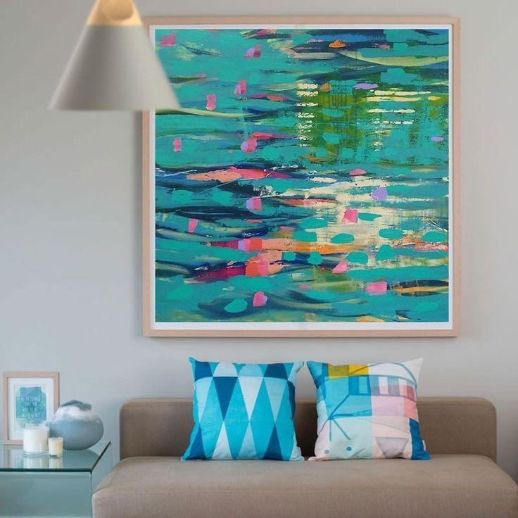 67 Best Art Prints For The Home | Printspace Images On Pinterest with Abstract Canvas Wall Art Australia