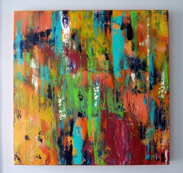 7 Best Abstract Art ✨ Marisa Newacheck Images On Pinterest Within Bright Abstract Wall Art (Image 7 of 20)