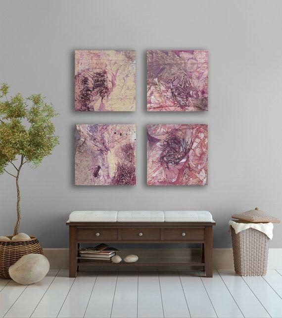 7 Best Lavender Bathroom Images On Pinterest | Bathroom, Lavender Throughout Abstract Wall Art For Bathroom (Image 2 of 20)