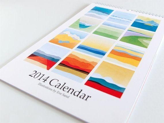 75 Best Calendars, Agendas, And Cards Images On Pinterest Within Abstract Calendar Art Wall (View 9 of 20)