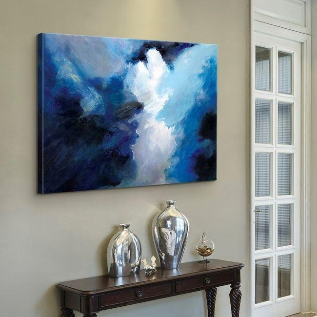 84 Best Blue Abstract Art Images On Pinterest | Framed Art Prints Pertaining To Bold Abstract Wall Art (Image 2 of 20)
