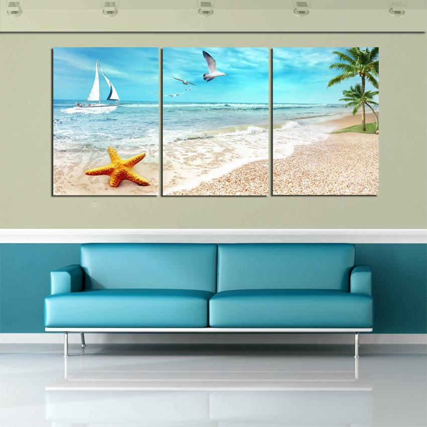 Above Bed | Home Decor | Pinterest | Beach Canvas, Palm Tree Throughout Abstract Beach Wall Art (View 17 of 20)