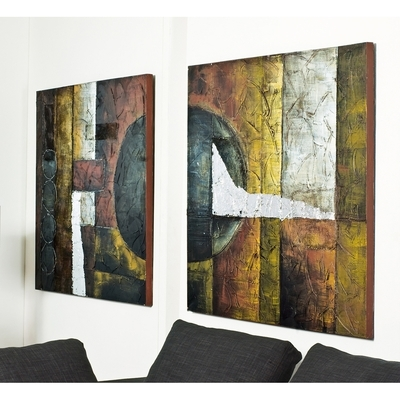 Featured Image of Dwell Abstract Wall Art