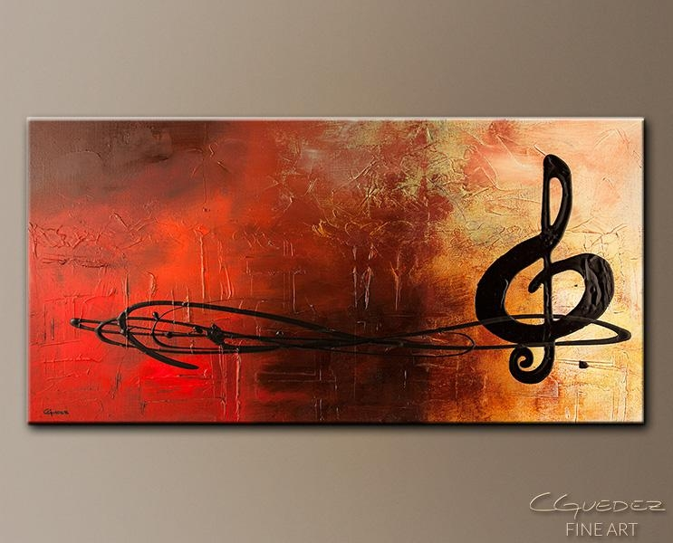 Abstract Art Site | Abstract Art Paintings Blog Regarding Abstract Musical Notes Piano Jazz Wall Artwork (Image 3 of 20)