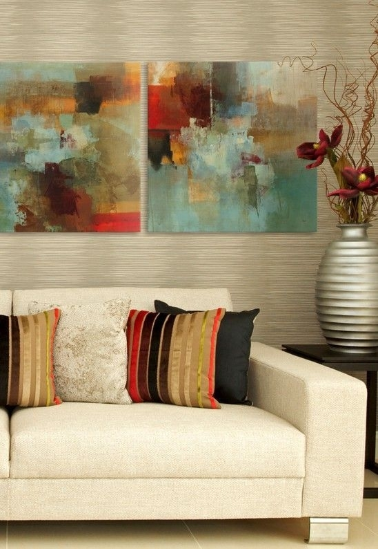 Abstract Art – This Is Totally What I'm Putting In My #neutral Regarding Abstract Wall Art For Living Room (Image 3 of 15)