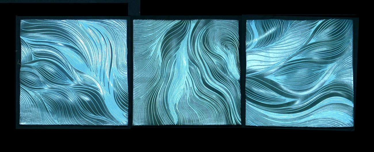 Abstract Design For Ceramic Wall Tiles | Natalie Blake Studios With Regard To Abstract Ceramic Wall Art (View 12 of 16)