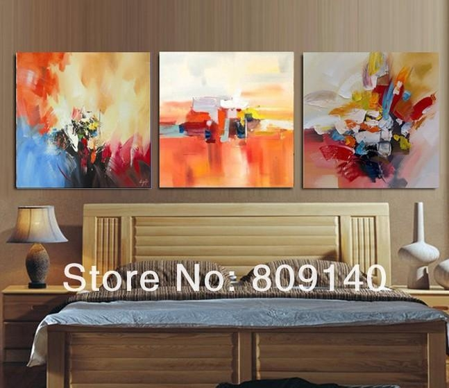 Featured Photo of Abstract Wall Art For Bedroom