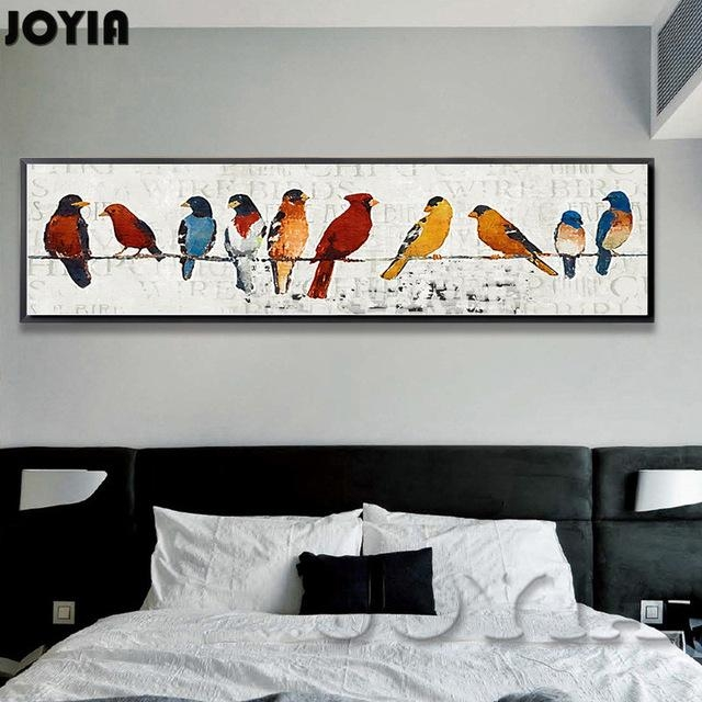 Abstract Room Picture Classic Style Decor Sparrow Group Wire With Abstract Bird Wall Art (View 17 of 20)