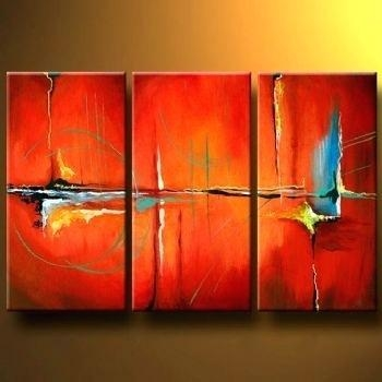 Abstract Wall Art Canvas Tango Modern Canvas Art Wall Decor Within Australian Abstract Wall Art (Photo 2 of 20)