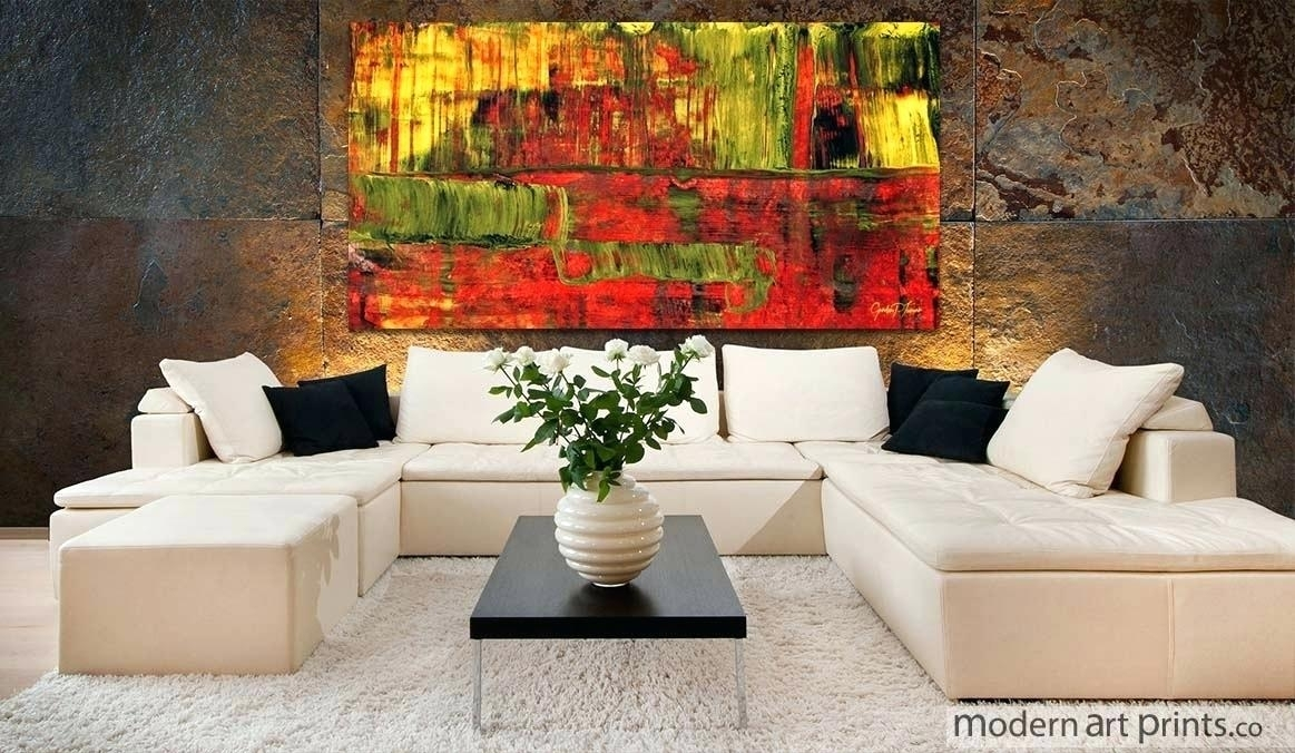 Abstract Wall Art For Living Room Art Hand Painted Oil Painting On For Abstract Wall Art For Living Room (Image 5 of 15)