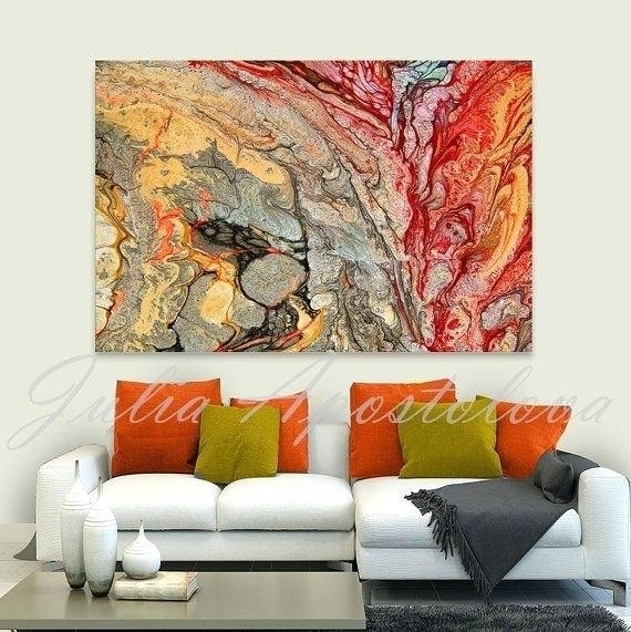 Abstract Wall Art For Living Room Art Hand Painted Oil Painting On Within Abstract Wall Art For Living Room (Image 6 of 15)
