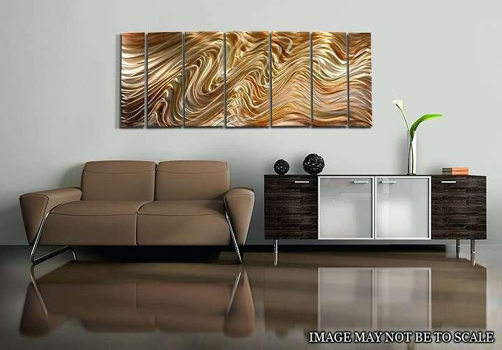 Abstract Wall Art Metal Metal Abstract Wall Art Circle Bubble Wave For Circle Bubble Wave Shaped Metal Abstract Wall Art (Image 5 of 20)