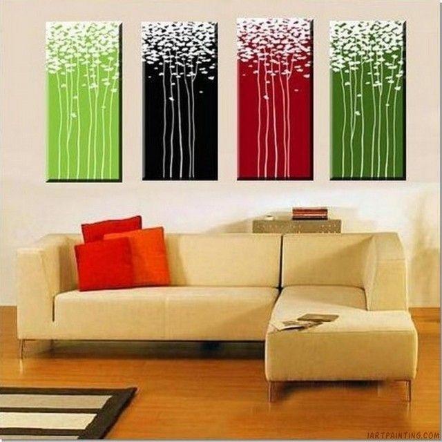 Diy Modern Canvas Wall Art