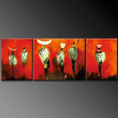 African Fog Modern Canvas Art Wall Decor Abstract Oil Painting Regarding Abstract African Wall Art (Image 9 of 20)