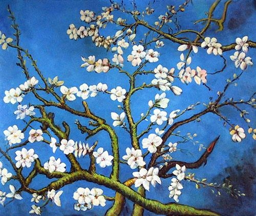 Almond Blossom – Flower Meaning Is Hope | Tattoo Inspirations Inside Almond Blossoms Vincent Van Gogh Wall Art (Image 2 of 20)