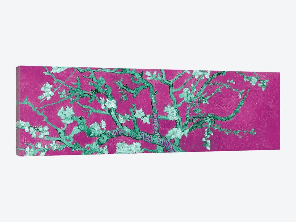 Almond Blossom On Magenta Canvas Artworkvincent Van Gogh | Icanvas Pertaining To Almond Blossoms Vincent Van Gogh Wall Art (View 16 of 20)