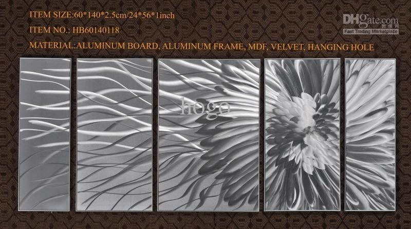 Aluminum Wall Art Gallery   Wall Art Decorations With Abstract Aluminium Wall Art (Image 8 of 20)