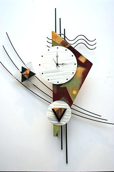 Contemporary Wall Art For Modern Homes: 2019 Latest Abstract Clock Wall Art