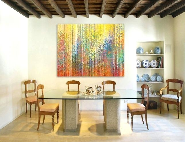 Art For Dining Room Dining Room Abstract Wall Art Art Deco Dining With Regard To Abstract Wall Art For Dining Room (Image 5 of 15)