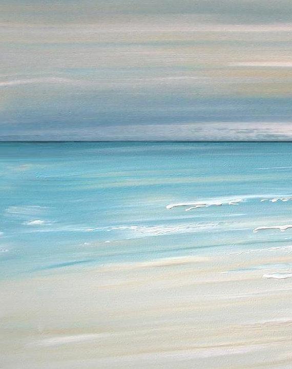 Beach Artwork, Nautical Artwork, Beach Decor, Beach Art, Ocean Art For Abstract Beach Wall Art (View 3 of 20)
