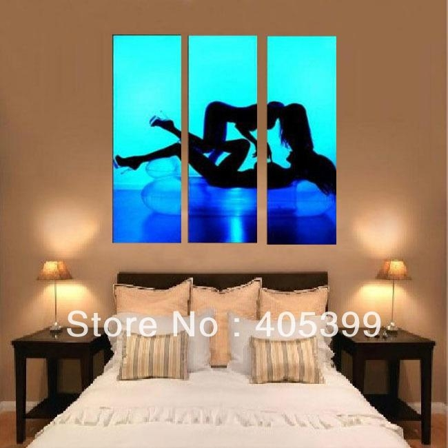 Bedroom Abstract Art – Home Design Ideas And Pictures With Regard To Abstract Wall Art For Bedroom (Image 7 of 20)