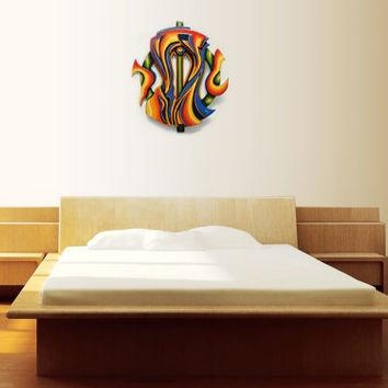 Best Abstract Wood Sculpture Art Products On Wanelo Intended For Sculpture Abstract Wall Art (Image 8 of 20)