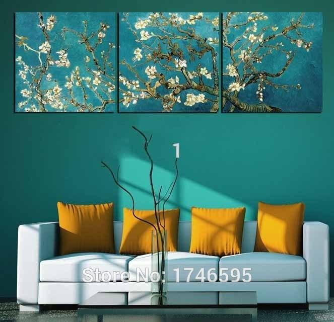 Big Size Modern Home Decor Van Gogh Oil Painting Reproductions Intended For Vincent Van Gogh Multi Piece Wall Art (View 5 of 20)