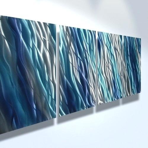 Blue Wall Art Quick View A Blue Wall Art Dark Blue Wall Art Uk For Dark Blue Abstract Wall Art (Image 4 of 15)