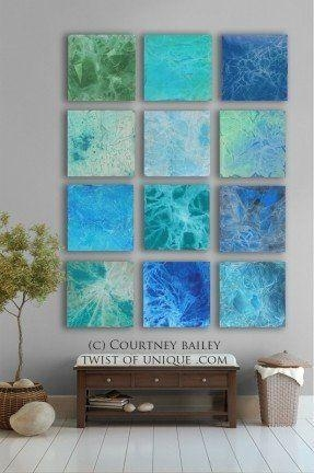 Bold Custom Abstract Painting, 12 Square Modern Abstract Wall Art With Bold Abstract Wall Art (Image 8 of 20)