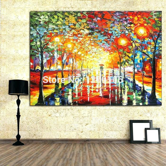 Featured Image of Bright Abstract Wall Art