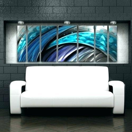 Canvas Wall Clocks Medium Size Of Large Metal Wall Art Clocks In Abstract Metal Wall Art Australia (Image 5 of 20)
