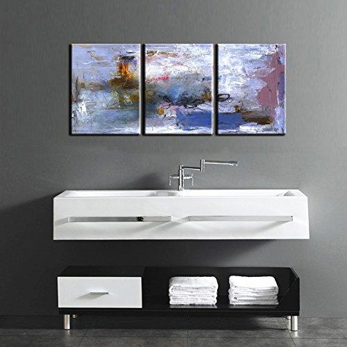 "Canvas Wall Painting "" Abstract Nature"" Canvas Prints Modern Within Abstract Wall Art For Bathroom (Image 8 of 20)"