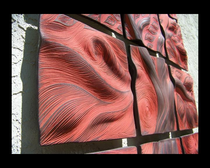 Ceramic Wall Art | Natalie Blake Studios Within Abstract Ceramic Wall Art (View 8 of 16)