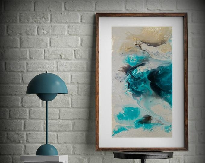 Coastal Prints – L Dawning Scott Fine Art For Abstract Wall Art For Bathroom (Image 9 of 20)