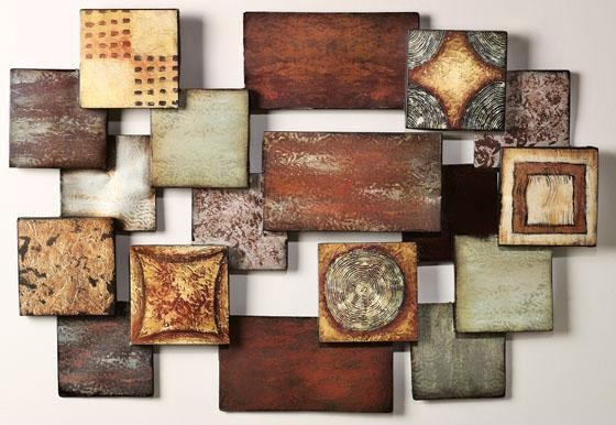 Featured Photo of Abstract Ceramic Wall Art