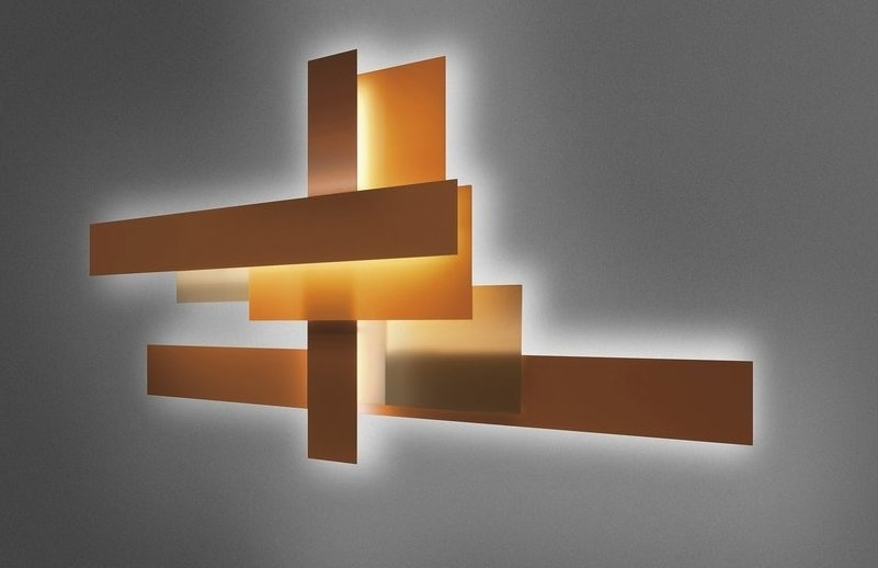 Contemporary Wall Art – Abstract, Metal And Glass | Founterior Throughout Glass Abstract Wall Art (Image 4 of 15)
