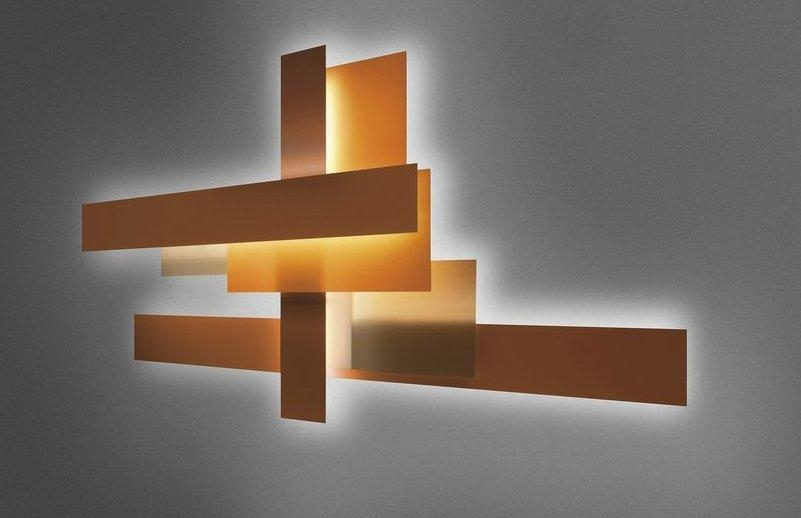 Contemporary Wall Art – Abstract, Metal And Glass | Founterior With Contemporary Abstract Wall Art (Image 7 of 20)