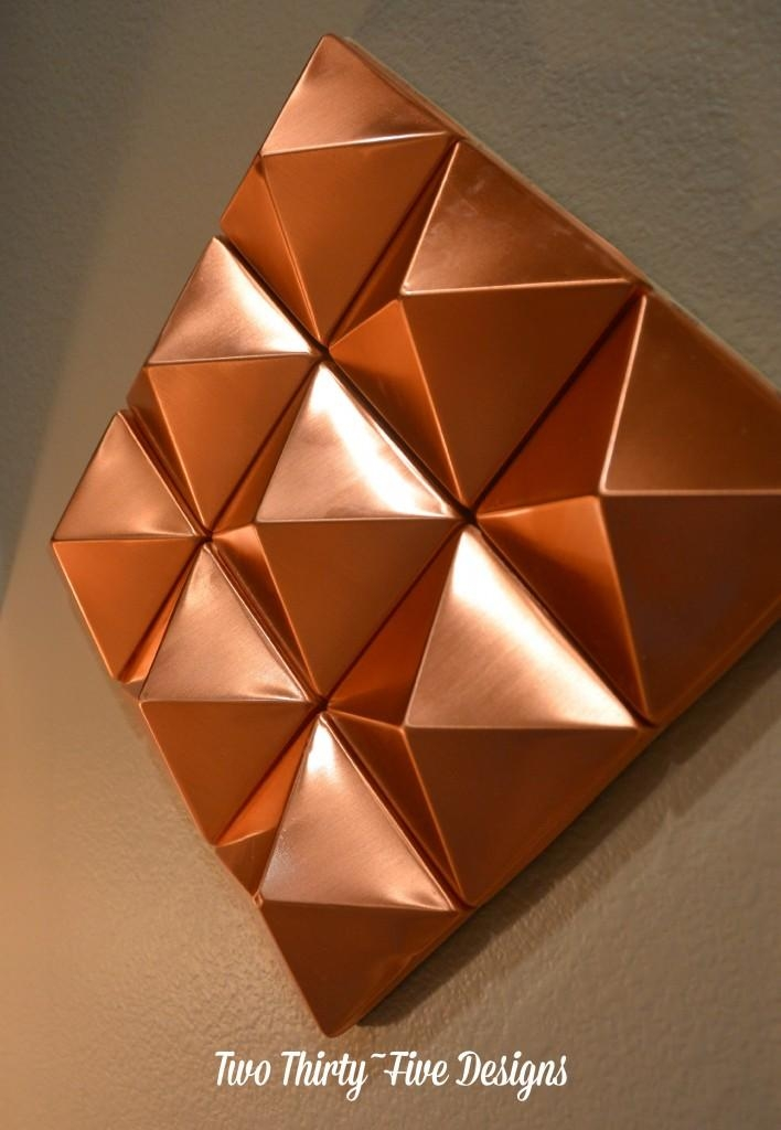 Copper Wall Art At Home And Interior Design Ideas Inside Abstract Copper Wall Art (Image 9 of 20)