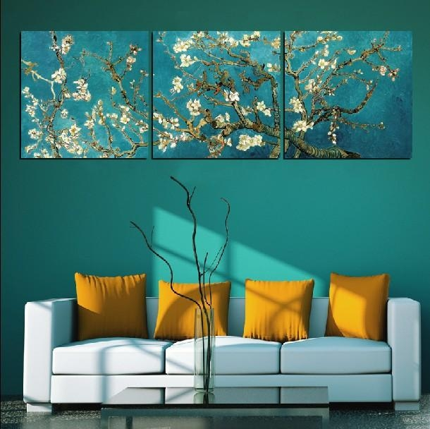Custom Classic Almond Blossomvincent Van Gogh Oil Painting Pertaining To Vincent Van Gogh Wall Art (View 5 of 20)